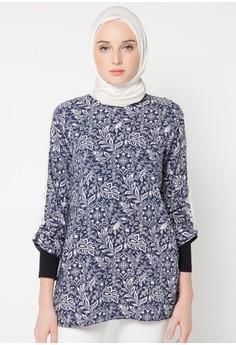 10 Baju Kantor Batik Wanita Muslimah Modern 2019 | Model ...