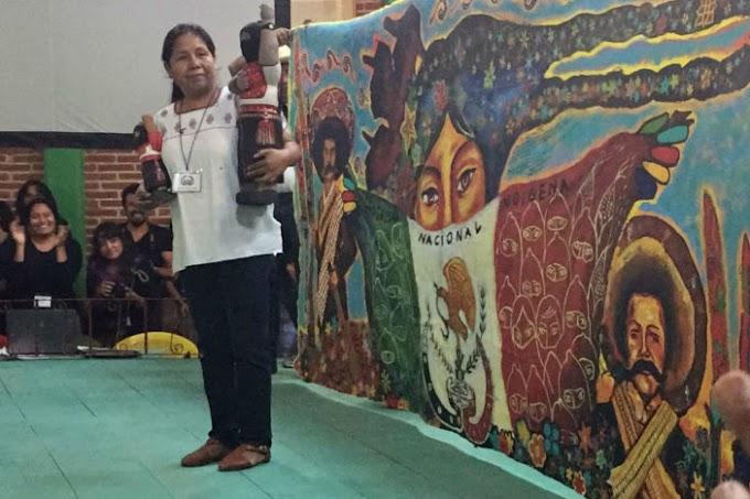 María de Jesús Patricio Martínez, vocera y candidata presidencial indígena