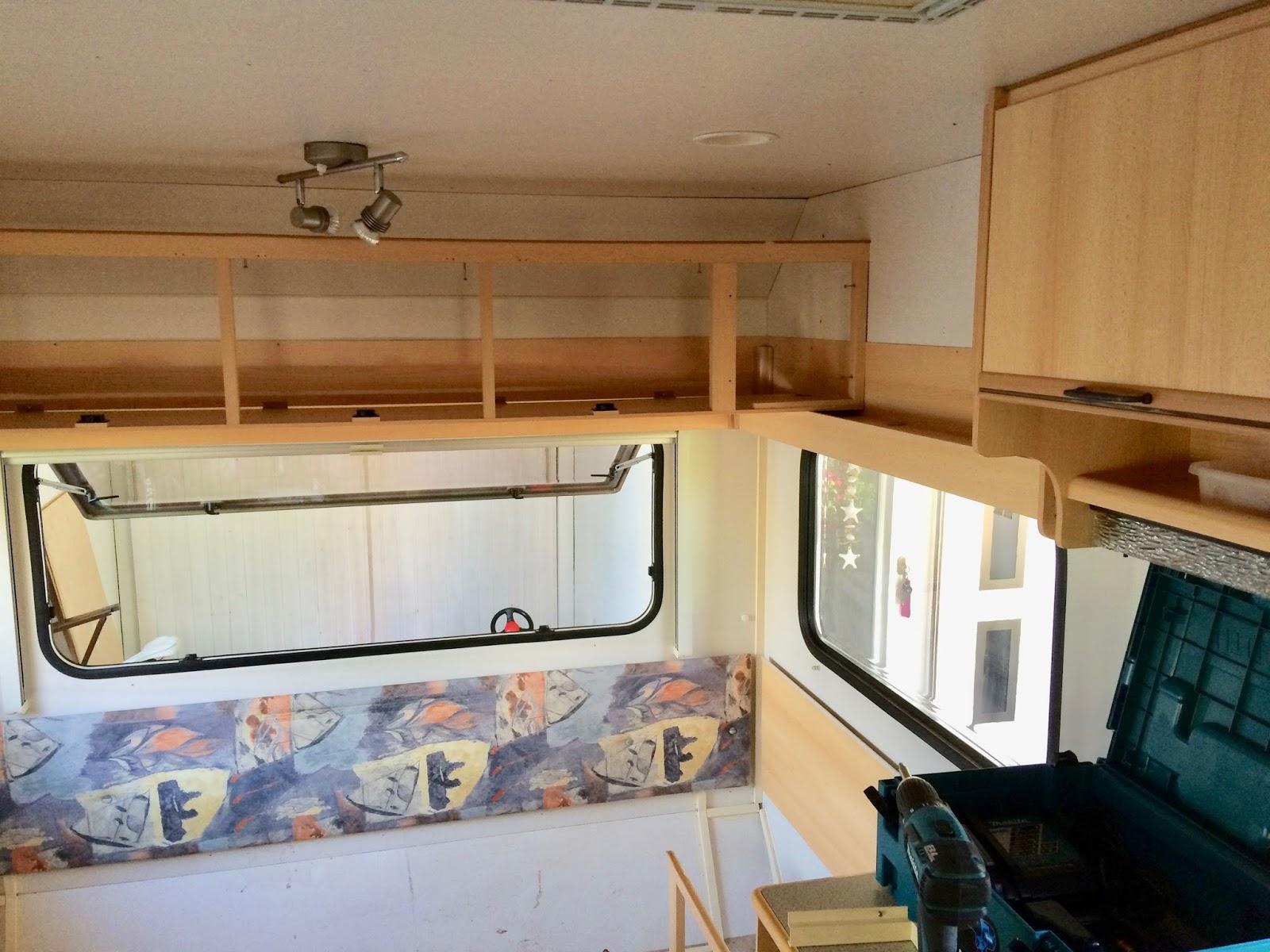 Wohnwagen Etagenbett Rausfallschutz : Glücksfeder: weiße nägel mit köpfen: so haben wir unseren wohnwagen