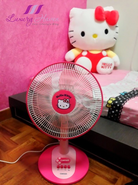cornell hello kitty electric fan gadget