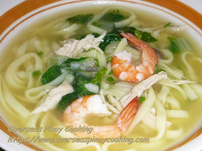 Fresh Miki Soup Recipe