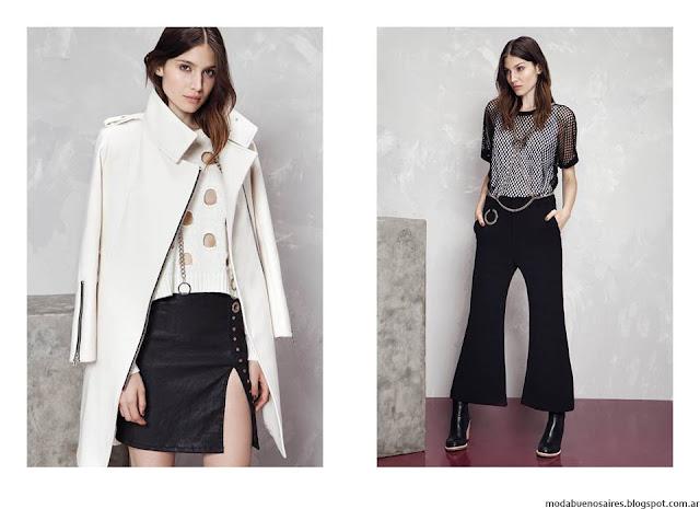 Moda invierno 2016 ropa de mujer Kosiuko. Moda 2016 pantalones.