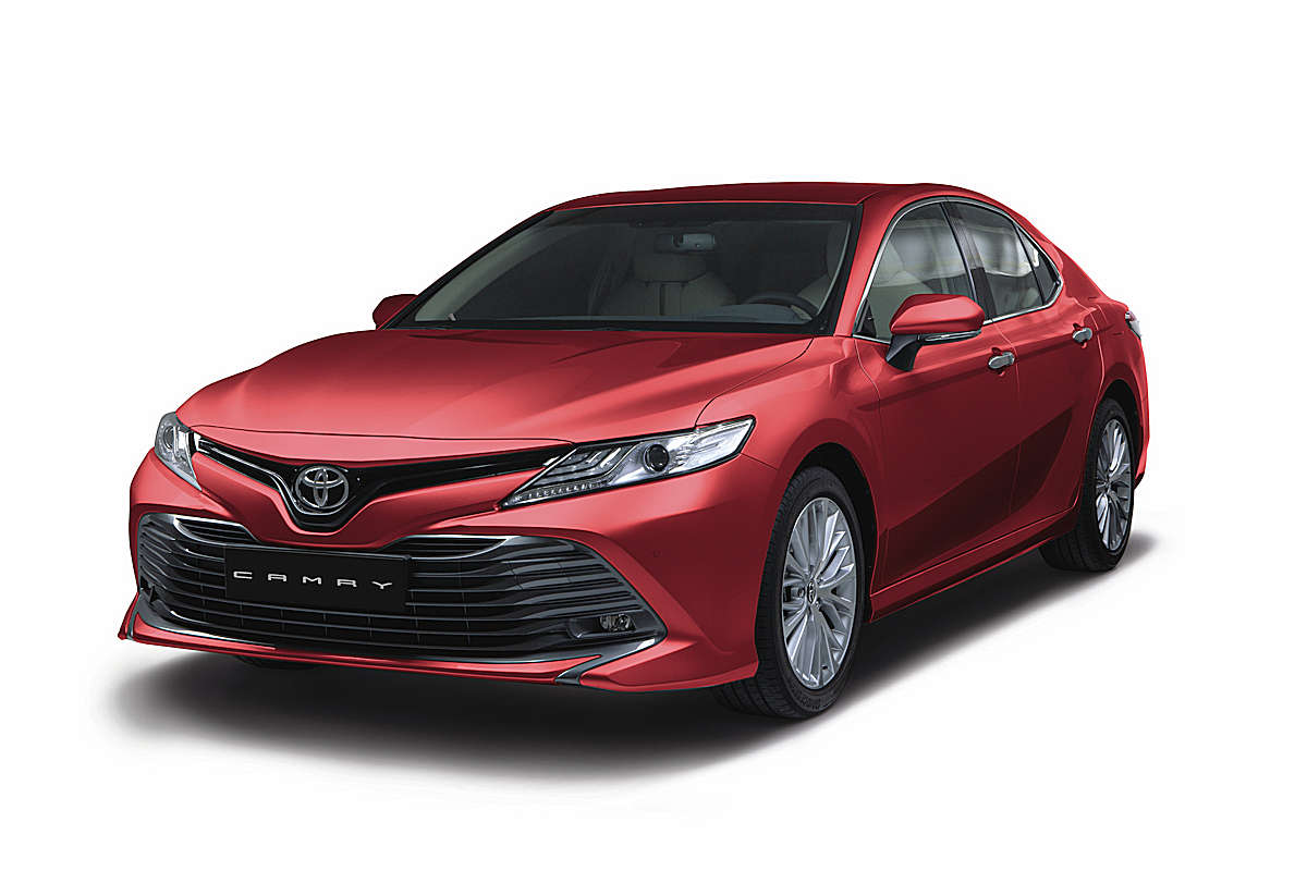Toyota Motor Philippines Formally Launches The Much Aned Full Model Change Of Its Flagship Midsize Sedan All New 2019 Camry