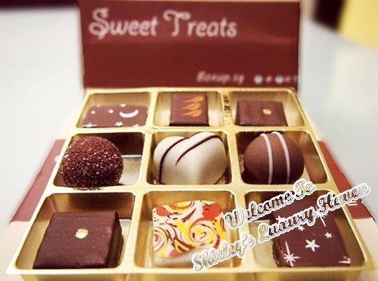 boxup sweet treats chocolates