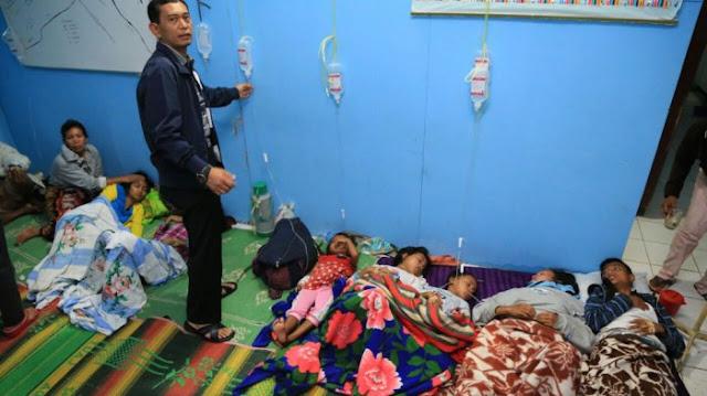 BAH FUANG! Makan Nasi Kotak saat Acara Adat, 68 Orang di Desa Ini Keracunan
