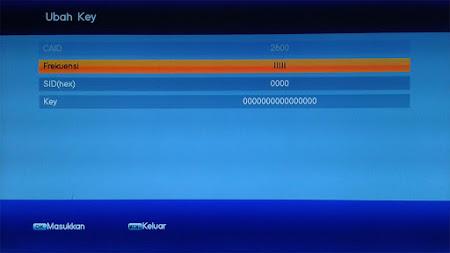 Cara Memasukan Bisskey di Receiver Lgsat Infinite HD