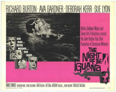 The night of iguana by John Huston