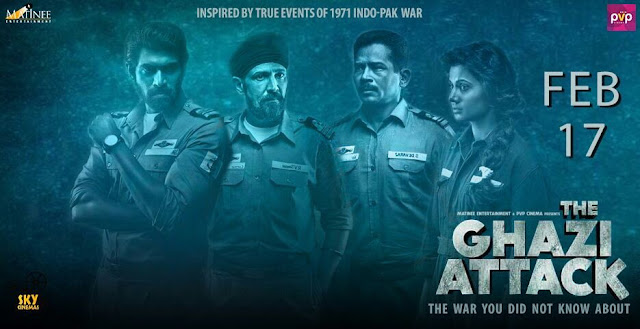 The Ghazi Attack' Latest Posters