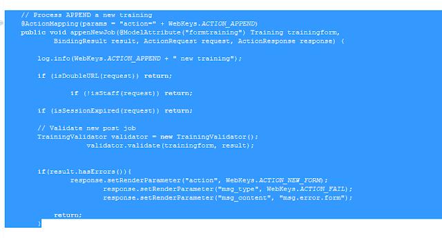 Cara mudah merapikan source code di Eclipse