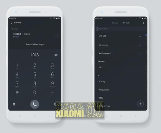 Download Thema Xiaomi MIUI Material Dark Simple Themes For Redmi