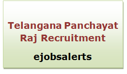 Telangana Panchayat Raj Recruitment 2017