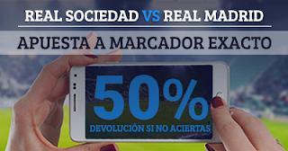 Paston promoción Liga Real Sociedad vs Real Madrid 17 septiembre