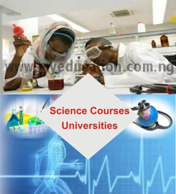 Complete List of Science Courses Offered in Nigerian Universities