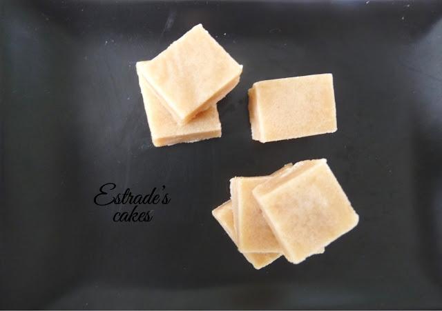 receta de glaseado o caramelo de toffe - 1