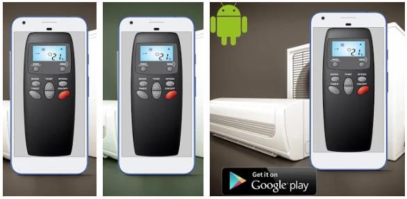 Universal AC Control Remote