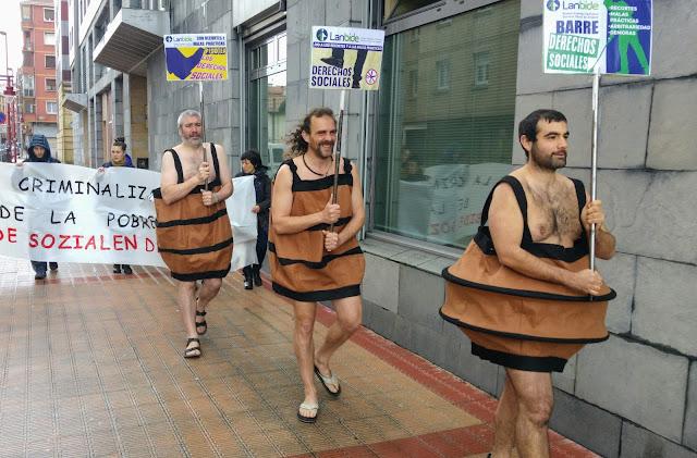 protesta de Berri-Otxoak