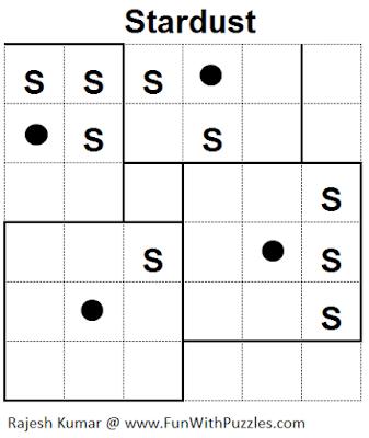 Stardust (Mini Puzzles Series #28) Solution