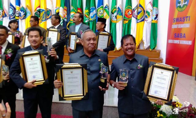 Mantap! Pemkab Soppeng Raih Penghargaan Kabupaten Sehat