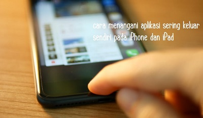 mengatasi aplikasi iphone force close