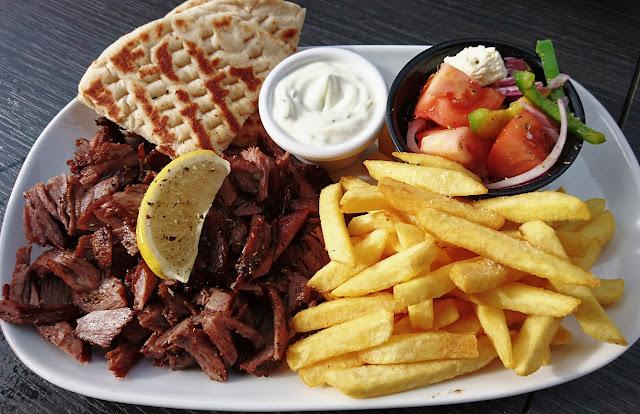 Meat Me Souvlakeri, Oakleigh, lamb platter