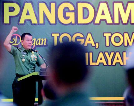 LDII Ikuti Silaturahim Pangdam VI Mulawarman