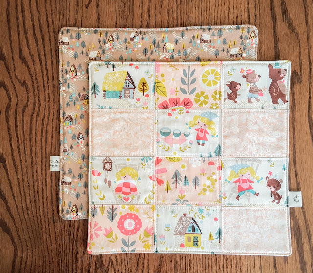 Goldilocks Table Set by Heidi Staples of Fabric Mutt
