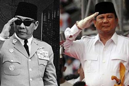 Benang Merah Perjuangan Bung Karno dan Prabowo