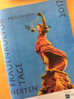 Hertener Frauenkulturtage Programm 2017