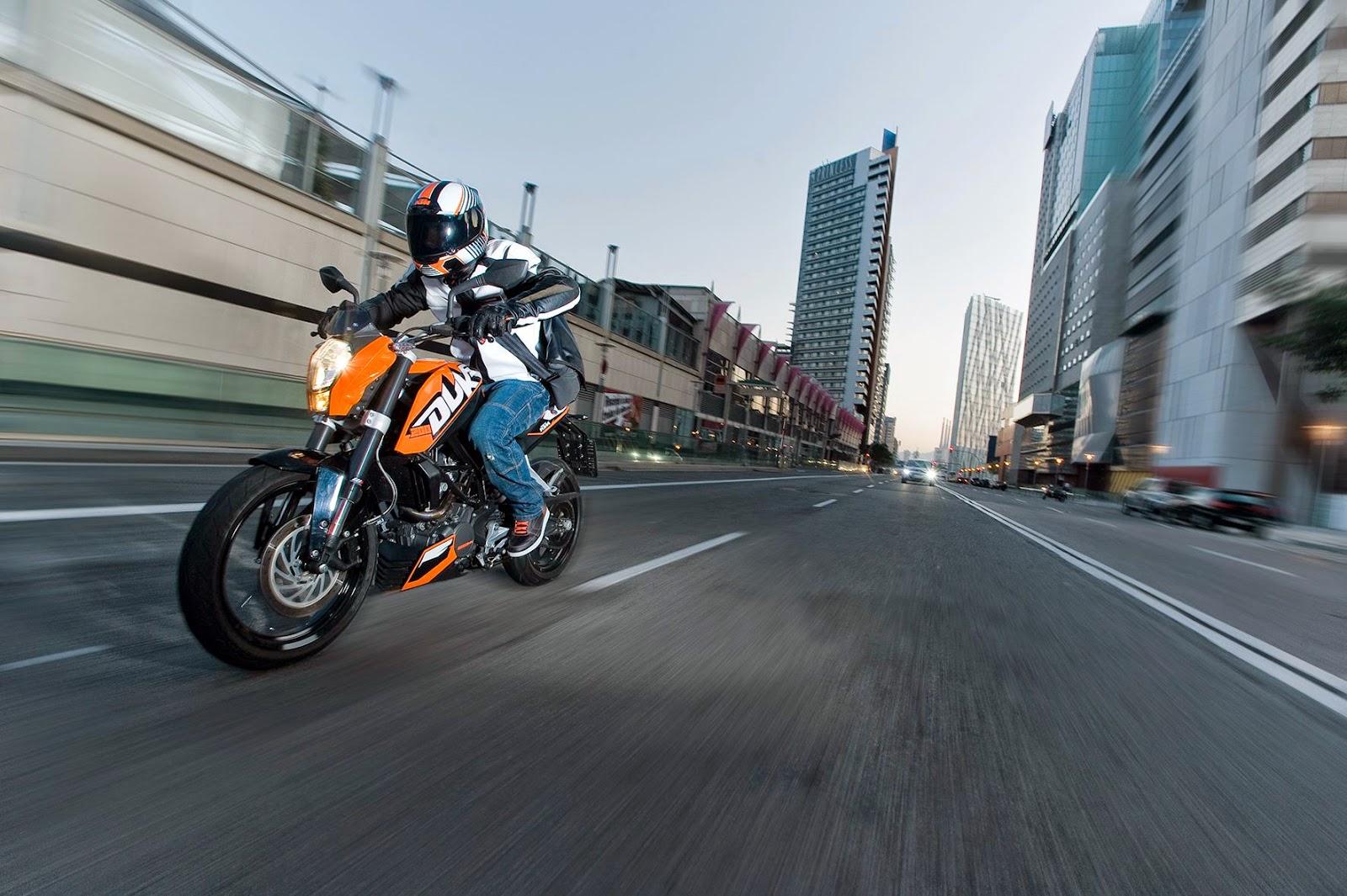 KTM Duke 200 (2014) Non ABS