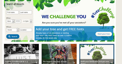 FindMyPast Tree Challenge