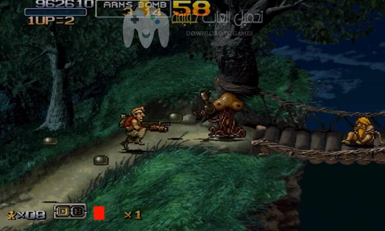 تحميل لعبة حرب الخليج Metal Slug 6