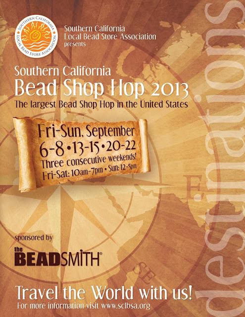 Southern California Local Bead Shop Association 2013 Bead