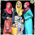 Contemporary muslimah with  rina salleh  , jo & jo design, dboystudio + photographer krew