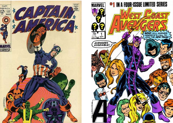 West Coast Avengers Hawkeye