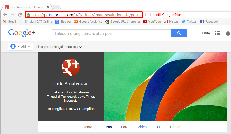 Kode HTML Google Plus Follower 2