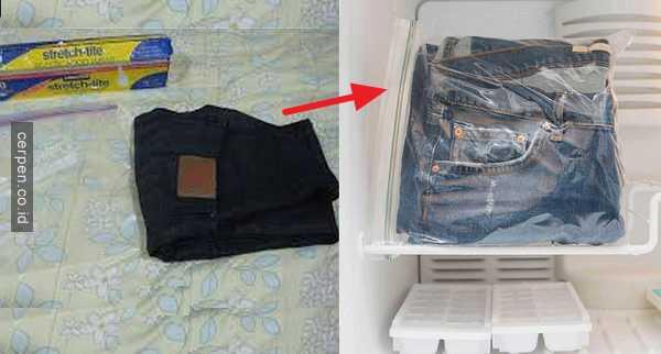 Cara Membersihkan Baju Yang Terkena Permen Karet Tanpa