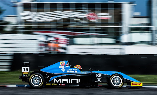 Kush Maini secures points-finishes in all 3 races at Adria