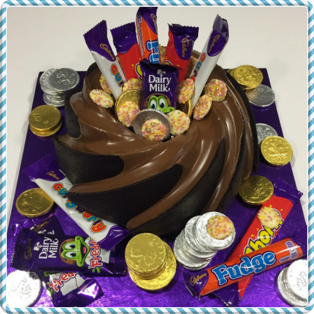 Selection Box Bundt Cake