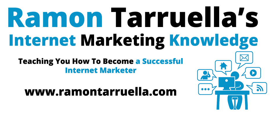 Ramon Tarruella's Internet Marketing Knowledge