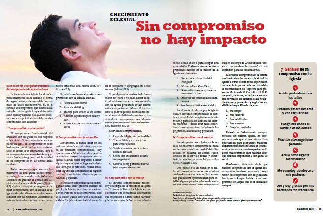 Sin Compromiso No Hay Impacto Revista La Fuente