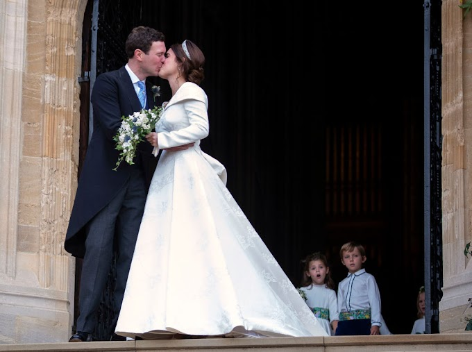 #RoyalWedding: Photos: Princess Eugenie & Jack Brooksbank are Married