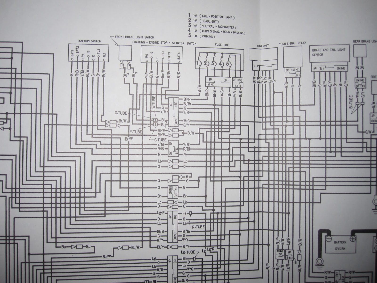 medium resolution of honda gb500 wiring honda free engine image for user honda gb500 honda cmx250c