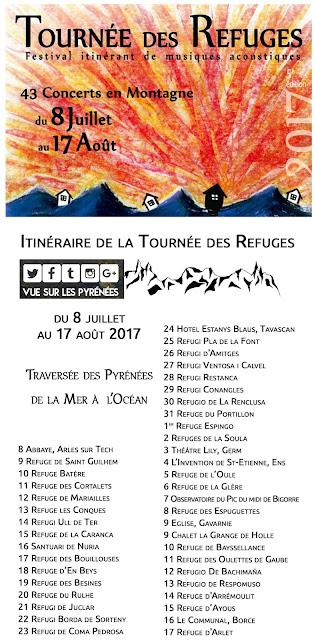 Tournée des Refuges Pyrénées 2017