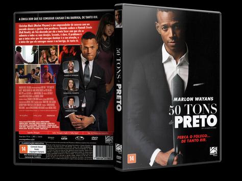 Capa DVD 50 Tons de Preto (Oficial)