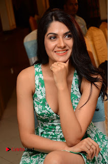 Actress Sakshi Chaudhary Pictures in Short Dress at Selfie Raja Movie Song Launch  0189.JPG