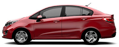 New 2016 Proton Persona left side wallpapers