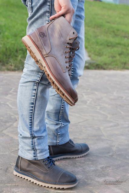 「敗家之路」Timberland 深褐色復古摔紋高筒靴 - 10