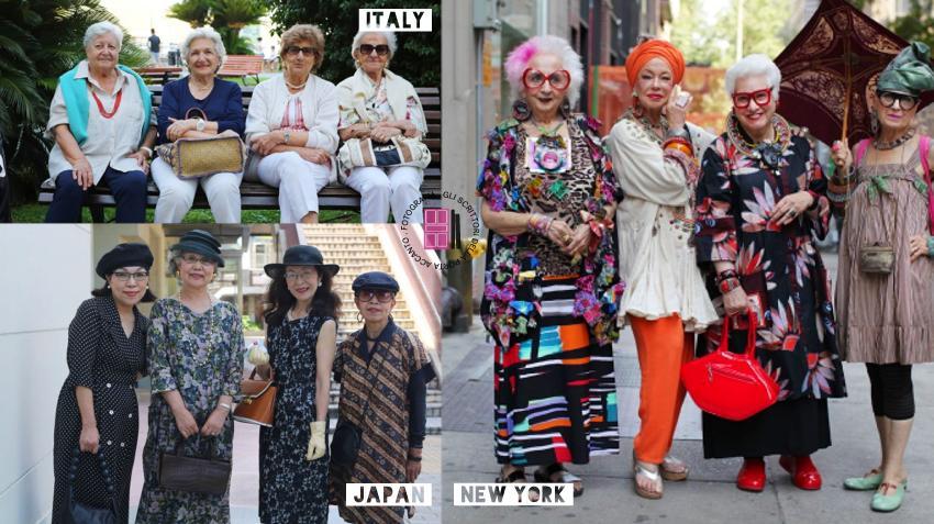 il fashion style dei frizzanti pensionati di tutto il mondo
