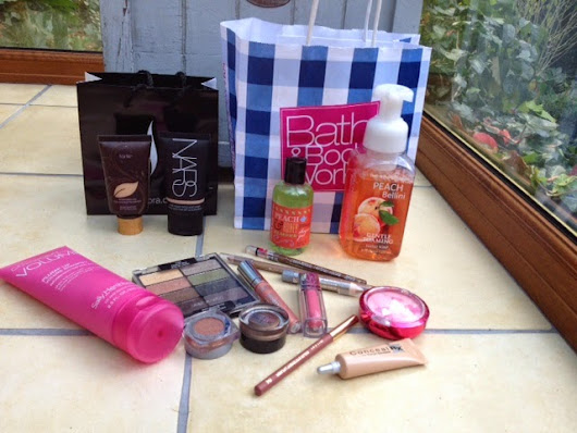 US Beauty Haul - Sephora, Duane Reade and Bath & Body Works