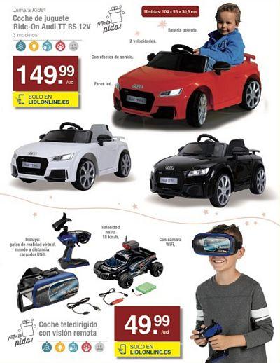 coche a baterías para conducir - coche teledirigido Audi TT